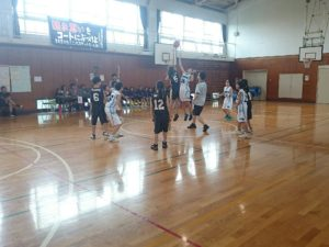 20160811_四季の森小学校練習試合、東希望が丘ミニバス戦